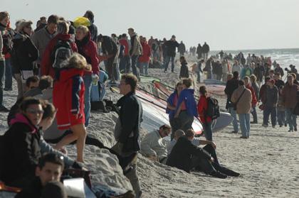 Surf World Cup auf Sylt (Brandenburger Strand)