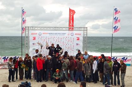 Siegerehrung Surfcup Sylt