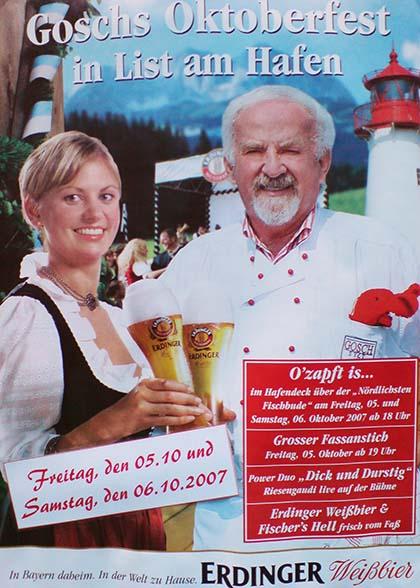 Oktoberfest bei Gosch