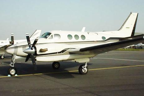 Flugzeug vom Typ Beechcraft