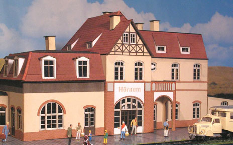 Bahnhof Hörnum der Sylter Inselbahn
