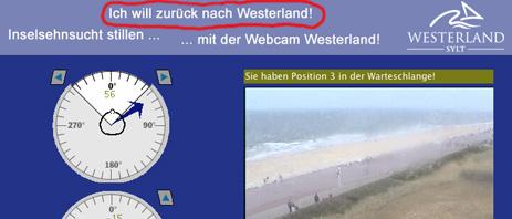 Westerland Webcam
