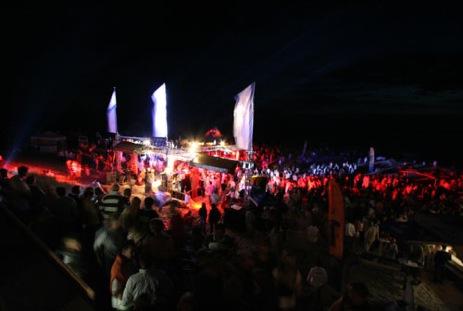 Grand Plage Party im Jahr 2007