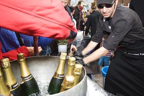 Champagner für Sylt
