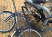 altes Sylt Fahrrad am Bahnhof