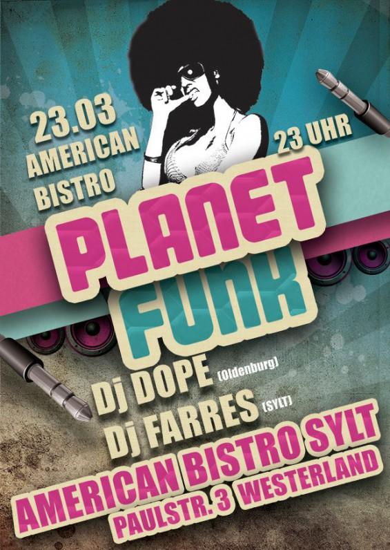 American Bistro Party mit DJ Farres