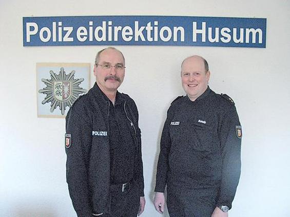 Haye Jebsen wird neuer Chef der Sylter Polizeistelle. (Foto: Polizei Nordfriesland)